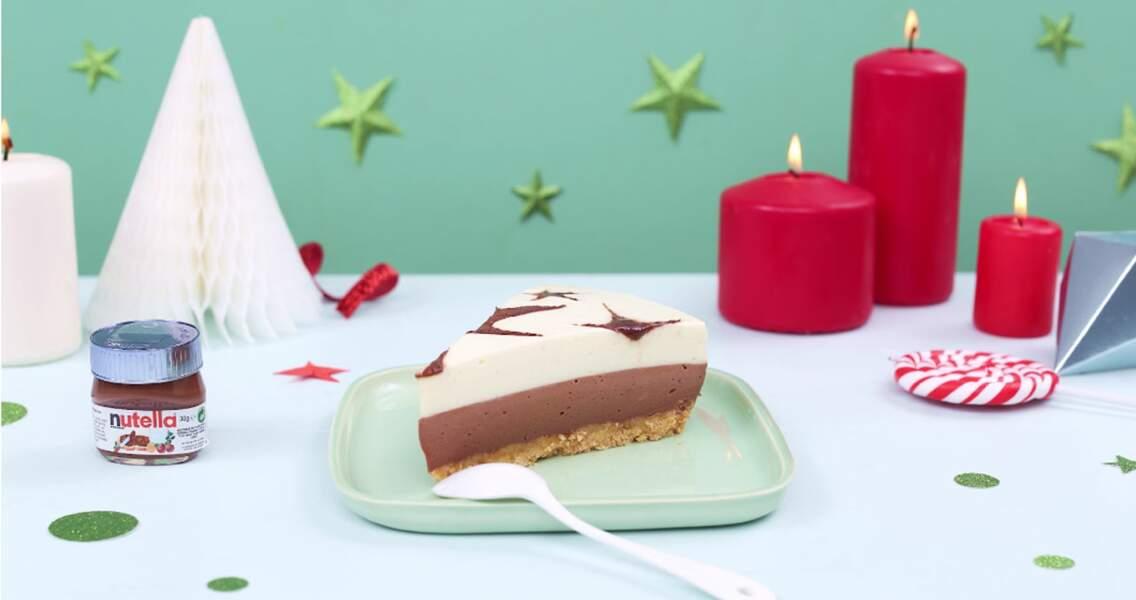 Cheesecake de Noël au Nutella