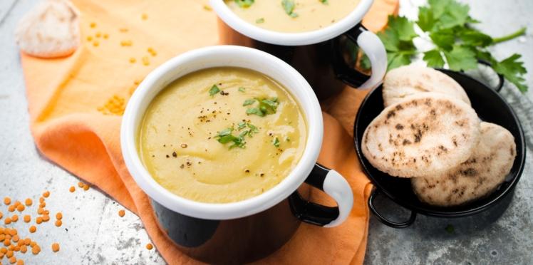 Cookeo : soupe de lentilles corail