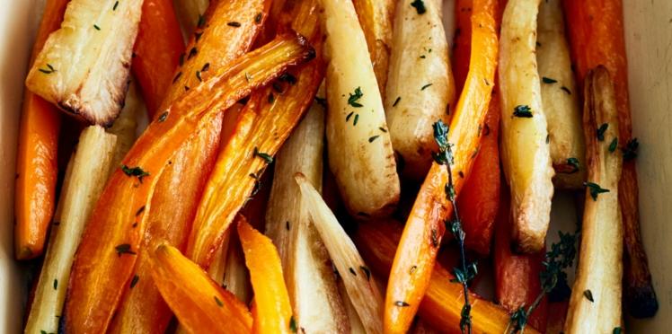 Légumes pour accompagner un chapon