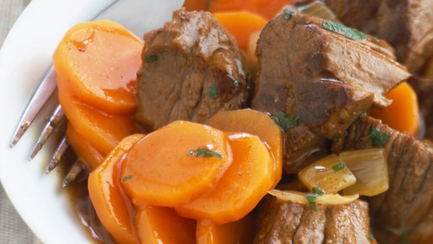 Bœuf carottes  (A l'auto-cuiseur)