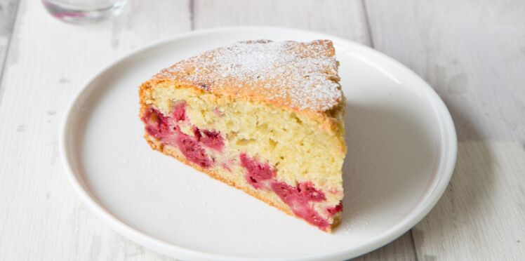 Gâteau à la framboise facile
