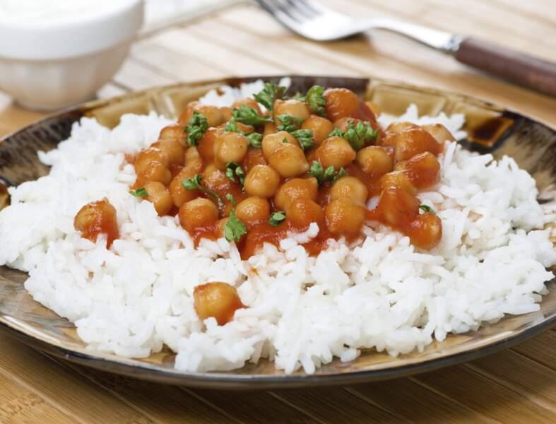Curry de pois chiches