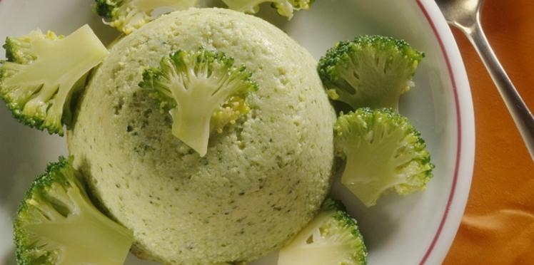 Timbale de brocolis