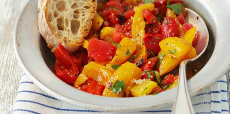 Méli-Mélo rougeoyant carottes et poivron