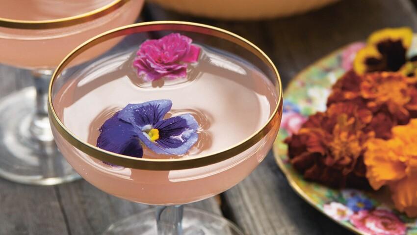 Cocktail floral