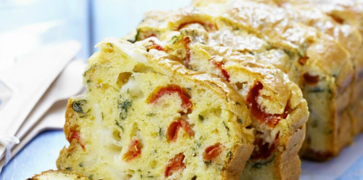 Cake tomate mozzarella