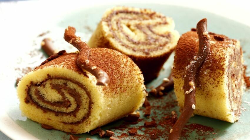 Gateau Roule Au Nutella Decouvrez Les Recettes De Cuisine De