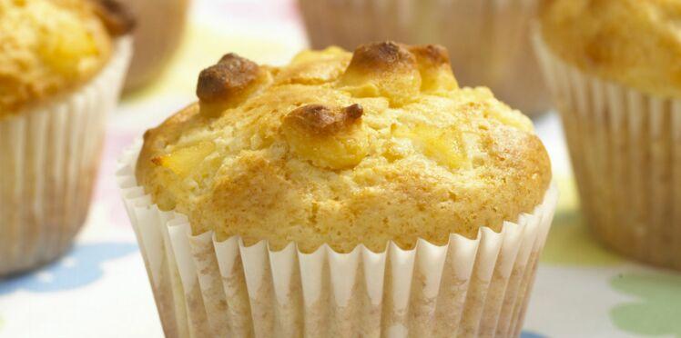 Muffins aux poires et amandes