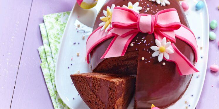 Gâteau de Pâques à la ganache pralinée