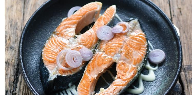Darnes de saumon au beurre blanc crémeux