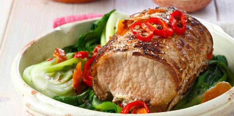 Rôti de porc aux saveurs asiatiques en croûte de sel de Guérande