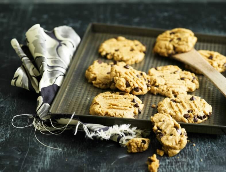 Cookies au beurre de cacahuètes maison
