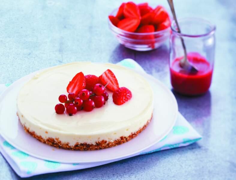 Cheesecake express sans cuisson