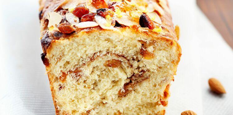 Cake aux fruits secs et aux agrumes