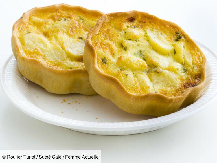 Tarte aux pommes de terre : découvrez les recettes de cuisine de Femme Actuelle Le MAG