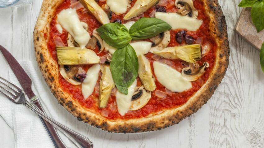 Pizza végétarienne coupe-faim