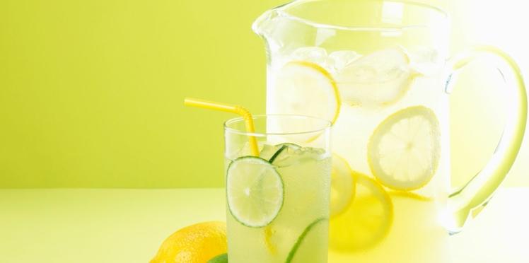 Limonade au citron vert
