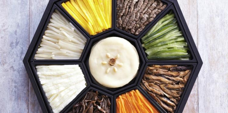 Gujeolpan  (assiette des 9 délices)