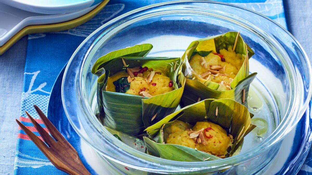 poisson amok en feuille de bananier : découvrez les recettes de