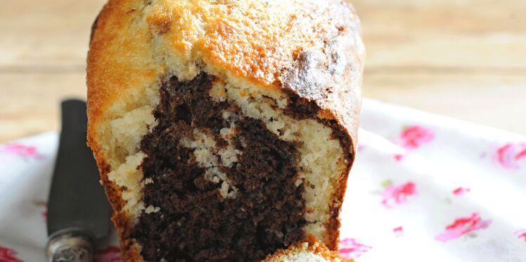 Cake marbré allégé