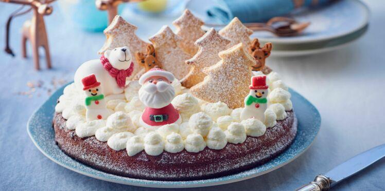 Fondant au chocolat tout doux du Père Noël
