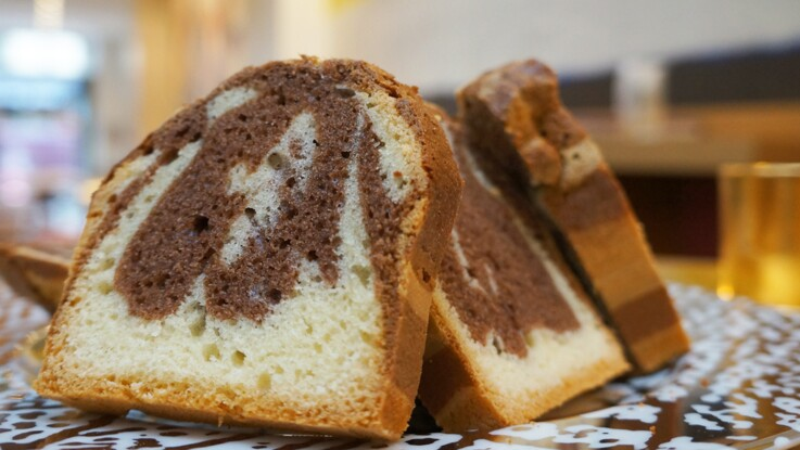 La recette du cake marbré de Jonathan Blot