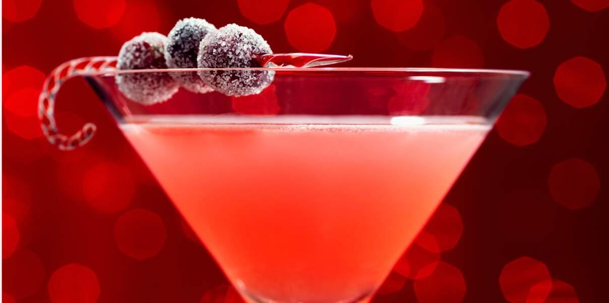 Cocktail de fête : bourbon cherry sour