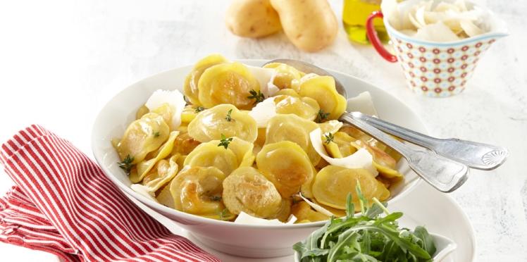 Ravioles de pommes de terre