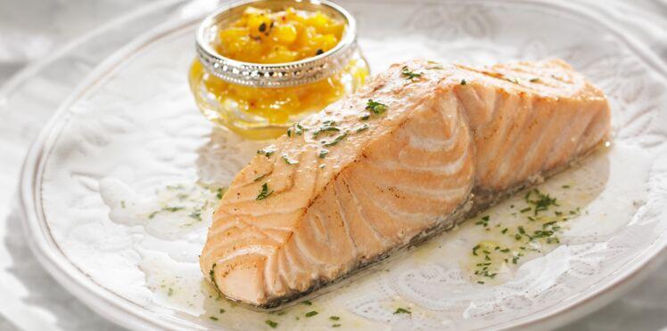 Saumon plancha
