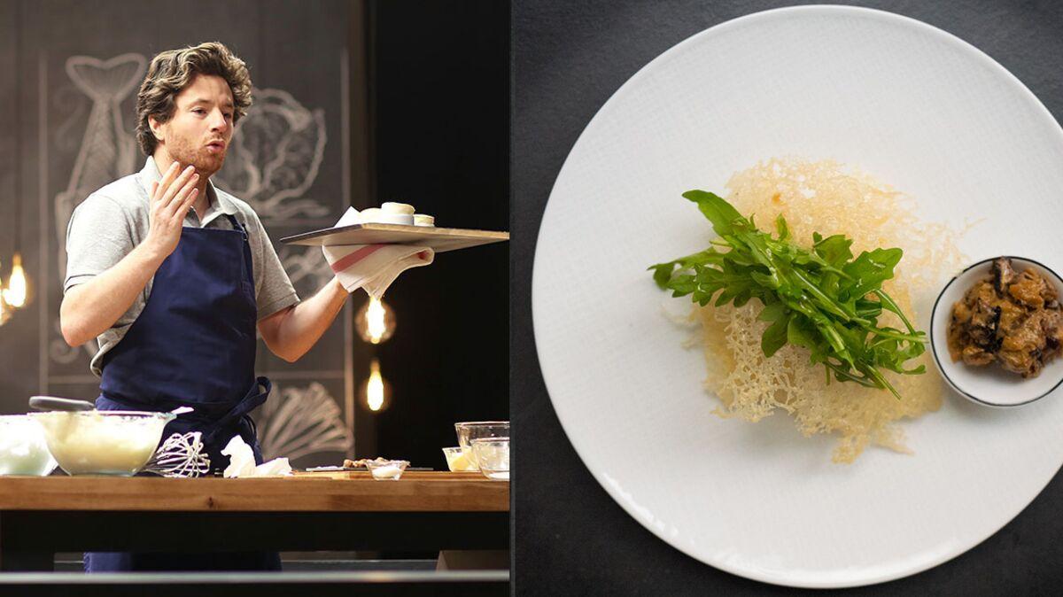 Millefeuille d'aubergine rapide et facile par Jean Imbert