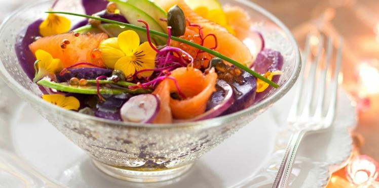 La salade de pommes de terre vitelottes d'Anne Alassane
