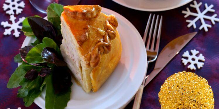 Pâté en croûte volaille et foie gras