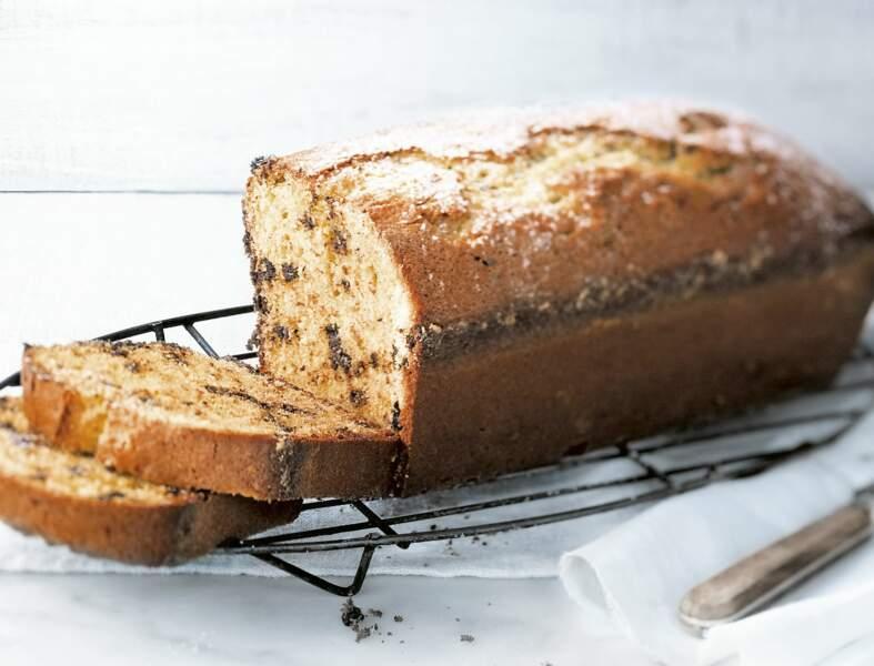 Gâteau au yaourt et aux pépites de chocolat