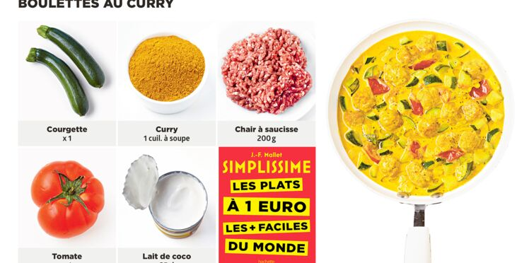 Boulettes au curry Simplissime