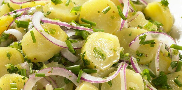 Salade de pommes de terre diététique