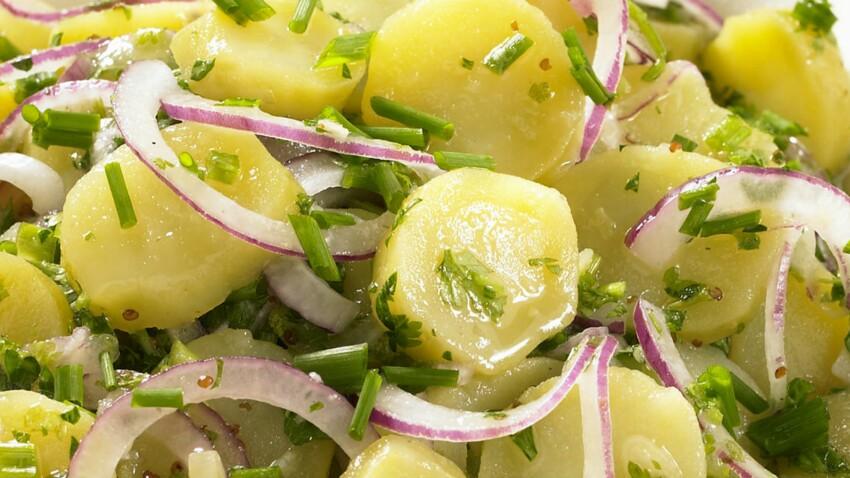 Salade de pommes de terre diététique : découvrez les recettes de cuisine de  Femme Actuelle Le MAG