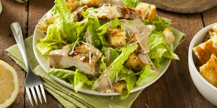 Salade César minceur