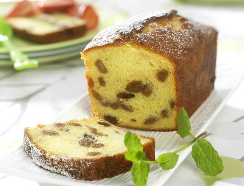 Gâteau aux raisins secs
