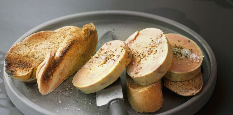 Foie gras à la vapeur