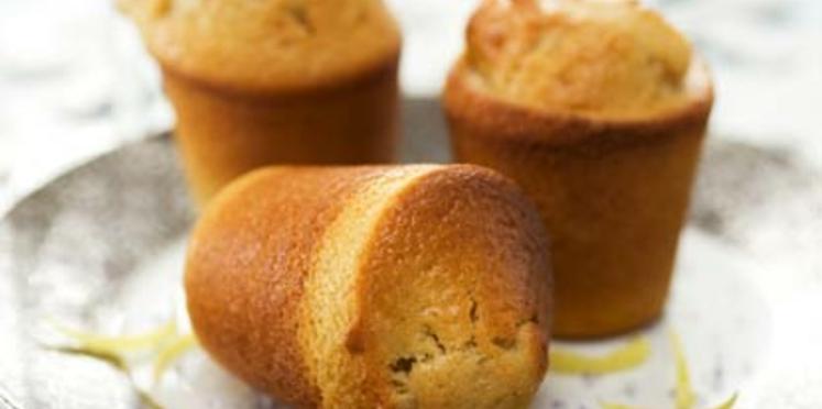 Muffins à la cannelle et au citron