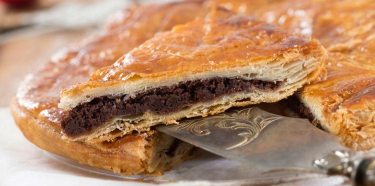 Galette des rois poire-chocolat facile