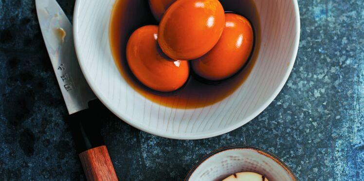 Œufs marinés special ramen  (Ajitsuke tamago)
