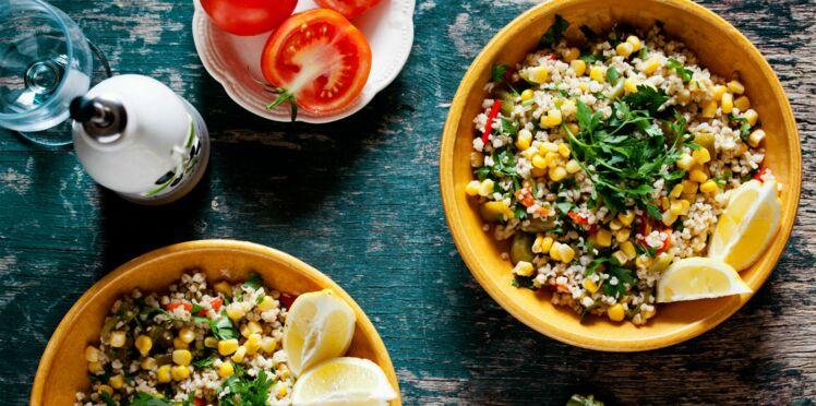 Salade de quinoa croquante