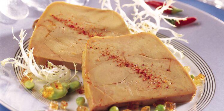 Foie gras de canard en terrine