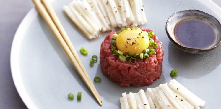 Yukhwe  (steak tartare)