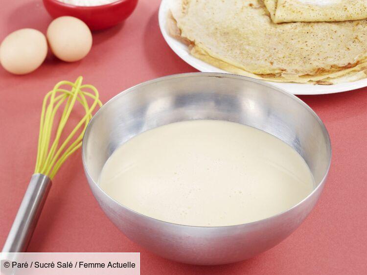 Pâte à crêpe bretonne : découvrez les recettes de cuisine de Femme Actuelle Le MAG