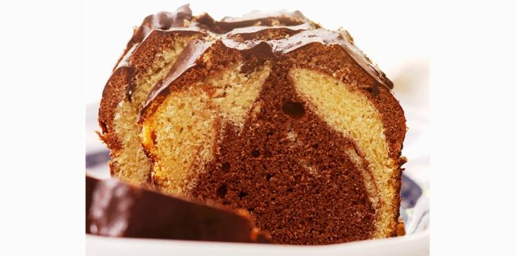 Biscuit marbré au chocolat
