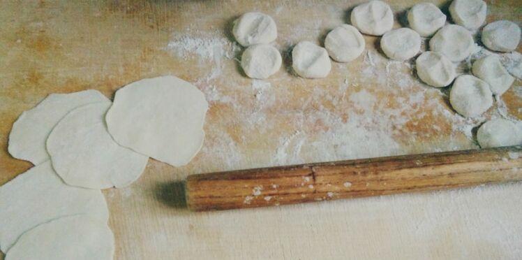 Recette de la pâte à raviolis pékinois de Yoom