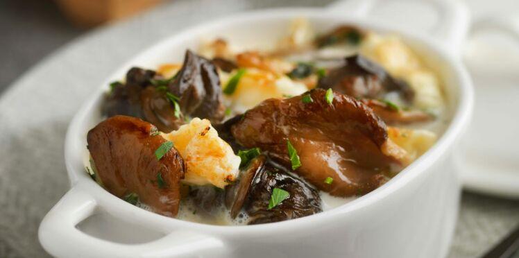 Cassolette d'escargots au chaource