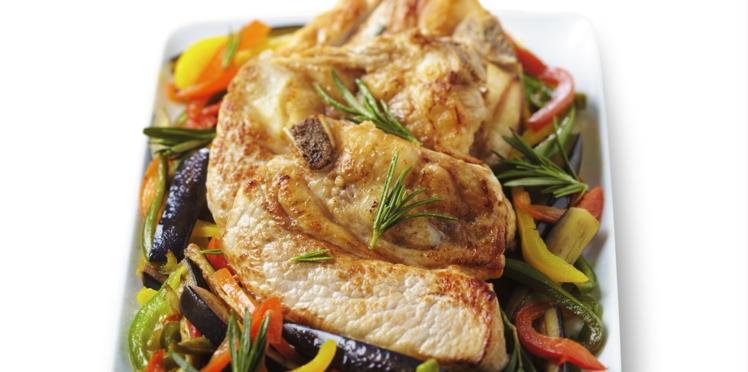 Tendron de veau et légumes d'été